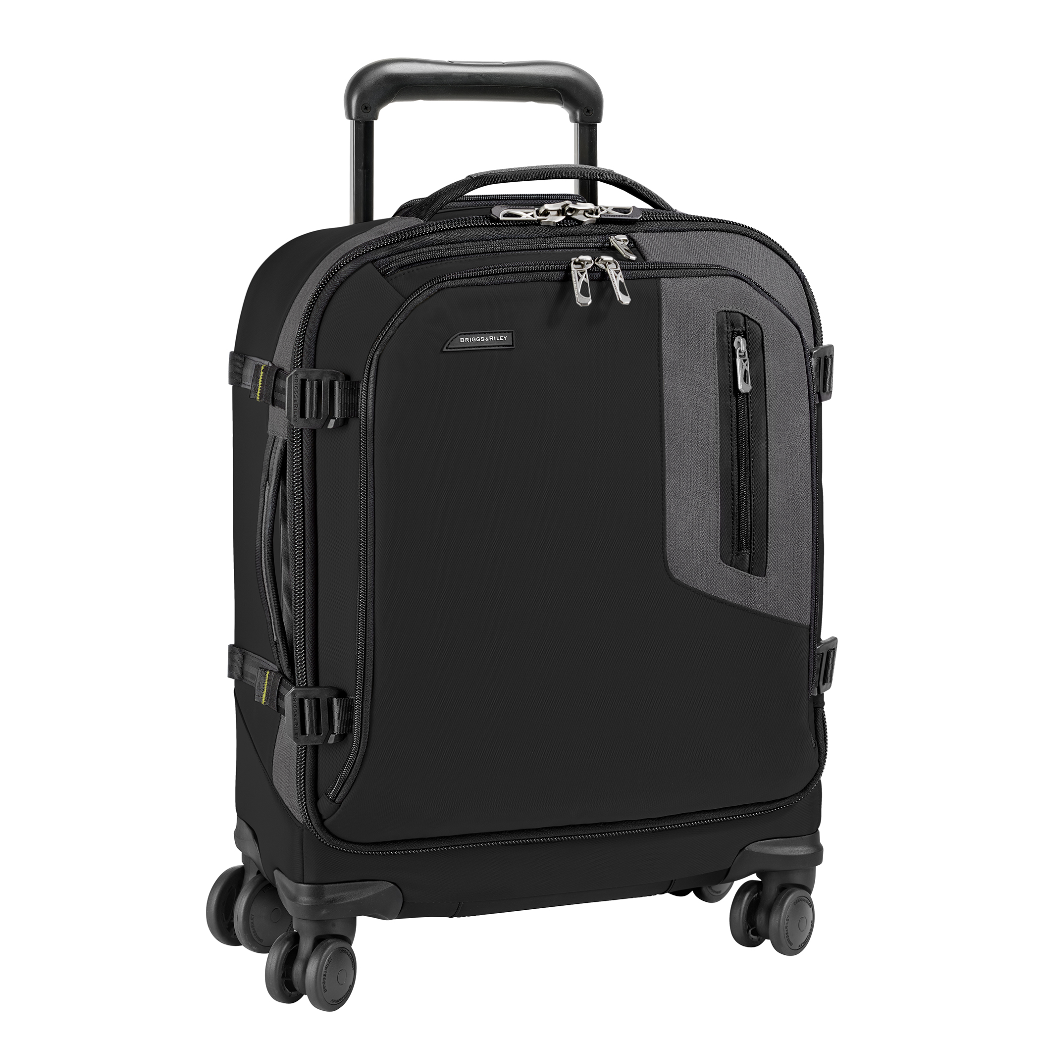 Briggs & Riley BRX-Explore BU221SPW-4 Wide-Body Carry-On Spinner Luggage Black 21″ LIFETIME WARRANTY
